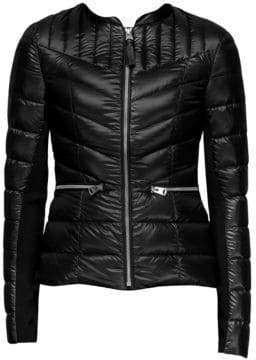 Mackage Women's Petra Water-Repellent Down Jacket - Black - Size XL