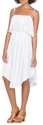 Women's Volcom Boundless Lace Popover Dress $65 thestylecure.com