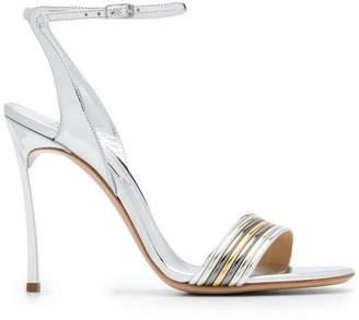 b8050c985 Silver Ankle Buckle Sandals For Women - ShopStyle Australia