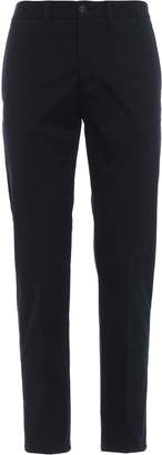 Moncler Simple Design Stretch Cotton Trousers