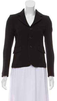 Marni Wool Button-Up Blazer
