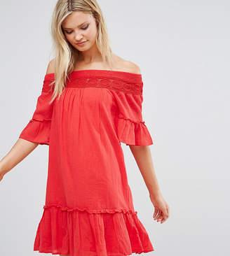 Vero Moda Tall Off the Shoulder Dress