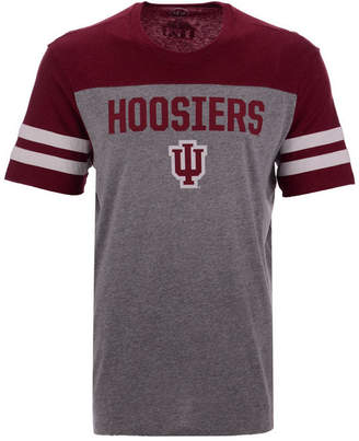 '47 Men's Indiana Hoosiers Tri-Colored T-Shirt