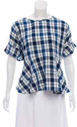 The Great The Twirl Plaid Top w/ Tags