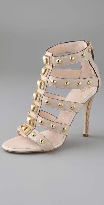 Giuseppe Zanotti Shoes Large Stud Gladiator Sandals