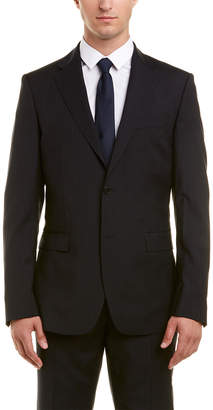 Versace 2Pc Wool Suit With Flat Pant