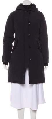 Canada Goose Down Knee-Length Coat