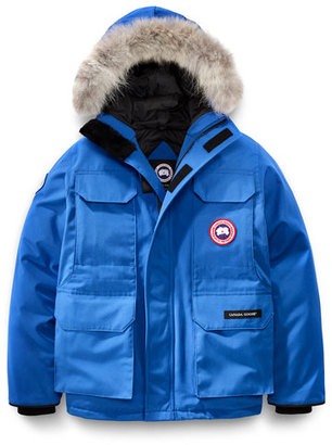 Canada Goose PBI Expedition Hooded Parka, Royal Blue, Size XS-XL $595 thestylecure.com