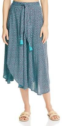 Band of Gypsies Kingston Printed Asymmetric Skirt