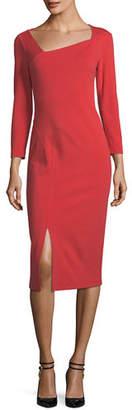 Lafayette 148 New York Shia Punto Milano Sheath Dress