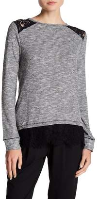 Jolt Thermal Lace Top