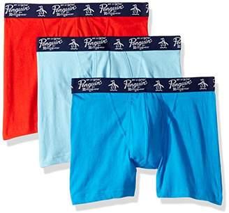 Original Penguin Men's Cotton Basic Underwear 3 Pack Boxer Brief