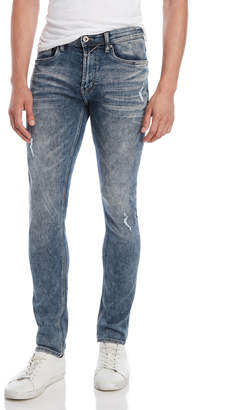 Buffalo David Bitton Acid Wash Skinny Jeans