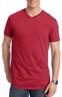 Hanes Men's Nano-T Short Sleeve V-neck