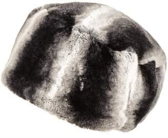 Black Rex Rabbit Fur Busby Hat