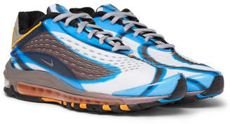 Nike Air Max Deluxe Printed Neoprene and Rubber Sneakers - Blue