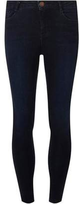 Dorothy Perkins Womens Petite Rich Blue Shaping Jeans