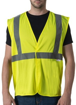 Walls Men's ANSI 2 High Visibility Mesh Safety Vest