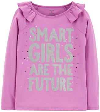 Carter's Graphic T-Shirt-Preschool Girls Graphic T-Shirt Girls