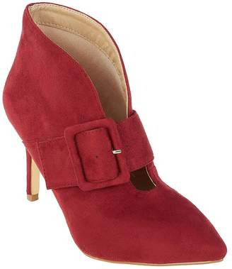 Kaleidoscope Buckle Strap Ankle Boots