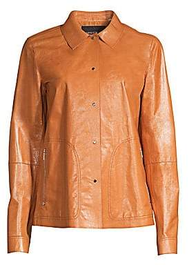 Lafayette 148 New York Women's Jaren Leather Jacket