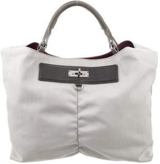 Marc Jacobs Nylon Tote Bag Grey Nylon Tote Bag