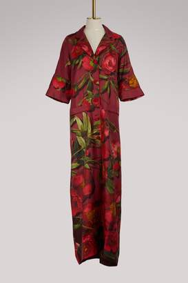 F.R.S For Restless Sleepers Eurinome silk dress