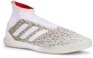 adidas Football Football Predator 19+ Training Sneaker in White & Blue & Red | FWRD