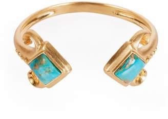 Christina Greene - Fleur-De-Lis Bracelet in Turquoise