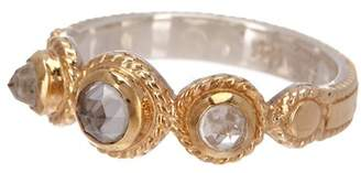 Anna Beck 18K Gold Plated Sterling Silver Crystal Quartz Ring