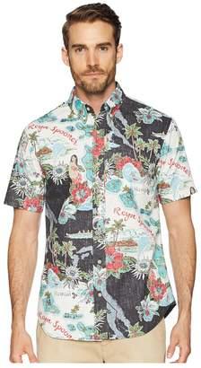 Reyn Spooner Status Oceanic Tailored Fit Aloha Shirt Men's Short Sleeve Button Up