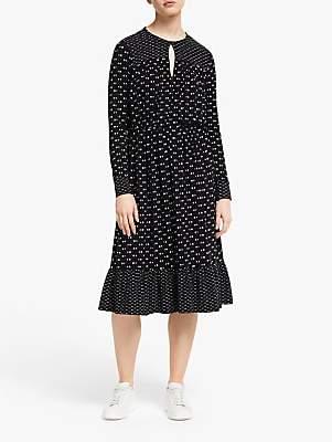 People Tree Madison Dot Dress, Black