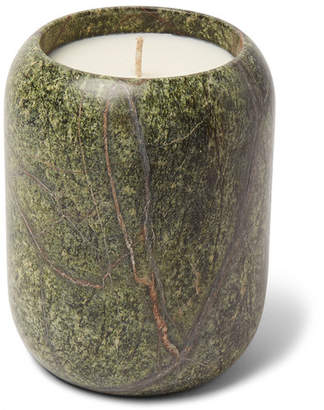 Tom Dixon Stone Scented Candle, 540g - Green