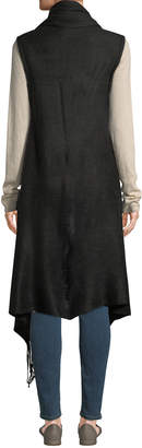 Vince Camuto Feels Like Home Fringed Duster Vest