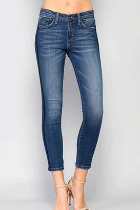 Flying Monkey Double-Tuxedo Skinny Jeans