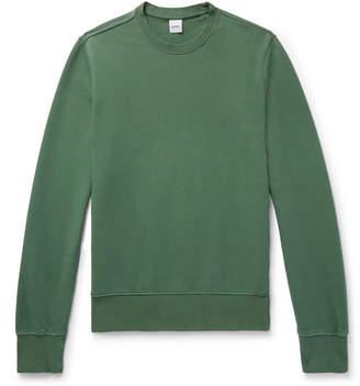 Aspesi Slim-Fit Loopback Cotton-Jersey Sweatshirt