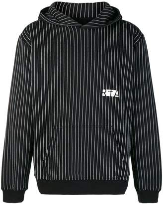 RtA vertical stripe hoodie