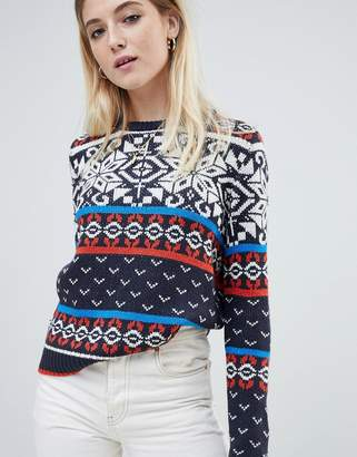 Noisy May fairisle sweater