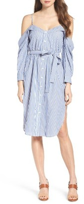 Women's Bardot Paloma Stripe Dress $109 thestylecure.com