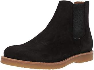 HUGO BOSS BOSS Orange by Men's Cuba Chelsea Boot in Suede Construction Shoe