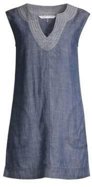 Trina Turk Women's Shelby Denim Shift Dress - Indigo - Size 0