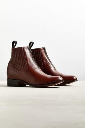 Chamula Botin Charro Zipper Boot