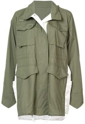 Sacai (サカイ) - Sacai oversized parka jacket