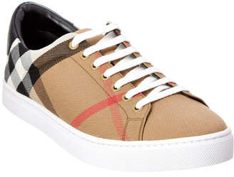 Burberry Albert House Check Cotton Trainer