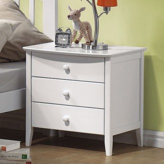 Acme San Marino Nightstand, White