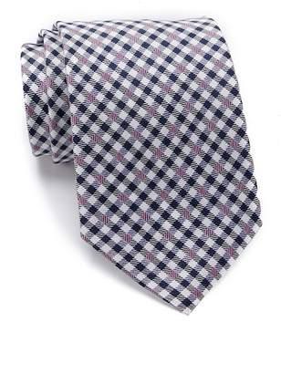 Tommy Hilfiger Silk Twisted Gingham Tie