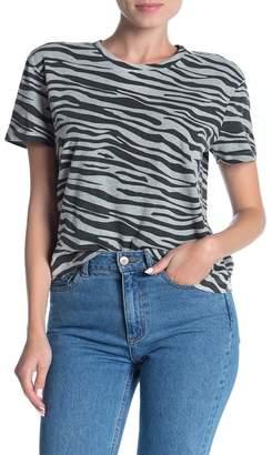 Modern Designer Short Sleeve Animal Print T-Shirt