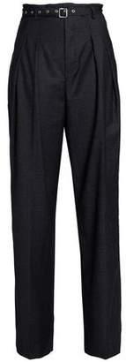 IRO Pinstriped Wool Wide-Leg Pants