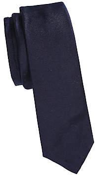 Thom Browne Men's Duck & Stripes Silk Tie
