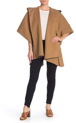 Theory New Divide Hooded Poncho